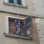 lavori su corda messa in sicurezza