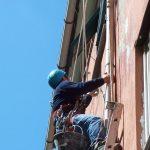 lavori su corda sostituzione pluviali