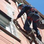 lavori su corda interventi facciata