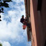 lavori edili su corda